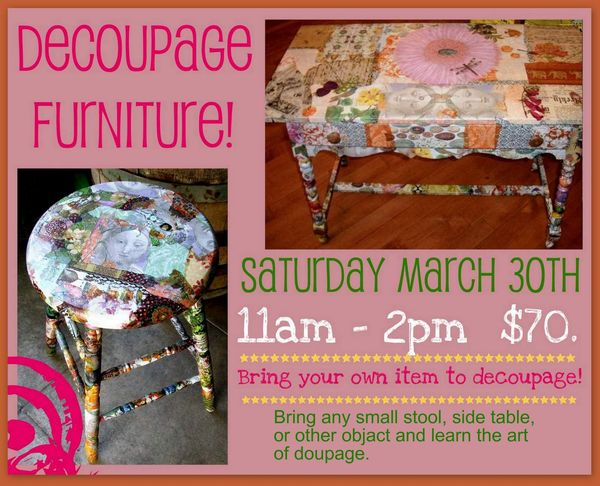 Pauls decoupage march 30th